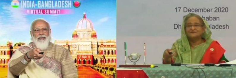 55 साल बाद हो रही चिल्हाटी-हल्दीबाड़ी रेल लिंक कीशुरुआत पीएम मोदी और शेख हसीना ने किया उद्घाटन