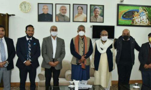 हिंदुजा ग्रुप के चेयरमैन ने की मुख्यमंत्री से भेंट