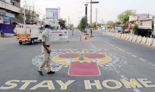 महाराष्ट्र  के नागपुर में फिर लगा पूर्ण लॉकडाउन