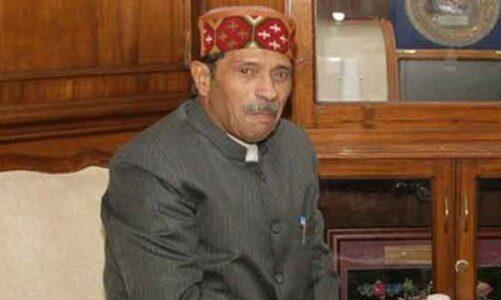 मुख्यमंत्री ने किया पूर्व केंद्रीय राज्यमंत्री बच्ची सिंह रावत के निधन पर गहरा शोक व्यक्त