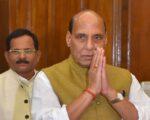 रक्षा मंत्री राजनाथ सिंह ने नई दिल्ली में सीमा सड़क संगठन (BRO) मुख्यालय का किया दौरा