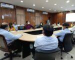 मुख्य सचिव श्री ओमप्रकाश ने सचिवालय में कोविड की सम्भावित तीसरी लहर हेतु तैयारियों के सम्बन्ध में बैठक ली